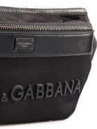 Dolce & Gabbana Nylon Belt Bag - Nero/nero