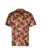 SSS World Corp Printed Short Sleeve Shirt - Multicolor