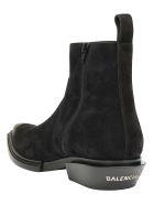 Balenciaga Santiag Booties - Black