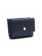 Borbonese Medium Wallet W/zip - Blu