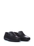 Tod's Tod's Leather Driving Shoes - NERO