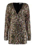 The Attico Sequined Mini Dress - Multicolor