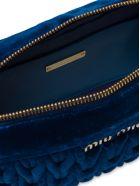 Miu Miu Quilted Shoulder Bag - Cobalto