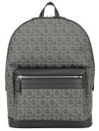 Salvatore Ferragamo Backpack - Nero grigio