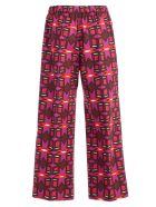 Aspesi Macro Pattern Print Trousers - Basic
