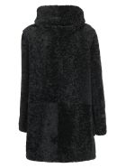 Saint Laurent Duffle Coat - Black
