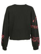 Pinko Amore Mio Sweatshirt - Nero/rosso