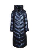 Violanti Hooded Down Jacket - Blue