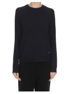 Tory Burch Bow-back Sweater - Navy