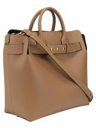 Burberry Belt Hand Bag - Light camel