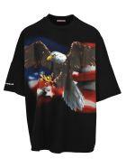 Palm Angels Big Eagle - Black
