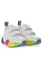 Stella McCartney Eclypse Raimbow White Sneakers - White/raimbow