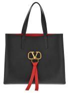 Valentino Vee Ring Shopping - Black