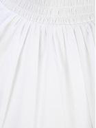 Prada High Neck Blouse - WHITE