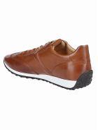 Tod's Logo Sneakers - Brown