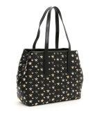 Jimmy Choo Shopping Bag With Stars Sofia M - BLACK METALLIC MIX (Black)