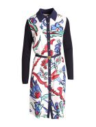 Tory Burch Silk Dress - Multi