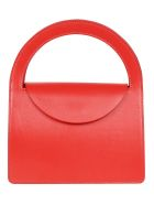 Building Block Lady Purse Tote - Red