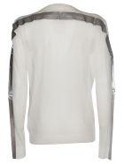Maison Margiela Contrasting Stripe Sweater - White