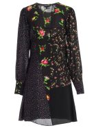 McQ Alexander McQueen Dress L/s Cut Boudoir - Darkest Black
