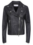 Bully Classic Zip Biker Jacket - Nero