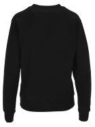 Golden Goose Sequin Logo Sweatshirt - BLACK
