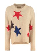 Zadig & Voltaire Markus Crew-neck Cashmere Sweater - Beige