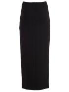 Sara Battaglia Skirt Long Pencil - Nero