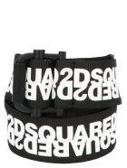 Dsquared2 Belt - Nero bianco