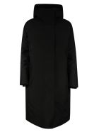 Save the Duck Heroy Long Raincoat - Black