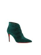 "Christian Louboutin Ankle Boot ""triniboot 85"" - Green"