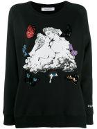 Valentino Cloud Sweatshirt - Nero+multicolor