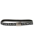 Givenchy Logo Belt - Black/white