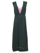 Colville Dress - Green/pink
