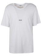 MSGM Logo Print T-shirt - white