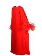 Parosh Panters Long Jacket - Red