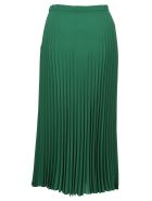 Max Mara Studio Pleated Skirt - GREEN