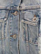 Ben Taverniti Unravel Project Unravel Two Tone Denim Jacket - LIGHT BLUE + BLUE