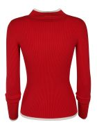 Ermanno Scervino Ribbed Sweater - red