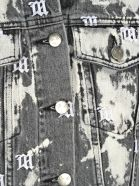 MISBHV Misbhv Embroidered Monogram Denim Jacket - GREY BLEACHED