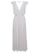 Fisico - Cristina Ferrari Fisico Ruffled Sleeveless Dress - Basic
