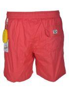 Hartford Drawstring Swim Shorts - Red