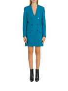 Balenciaga Blazer Dress - Blu