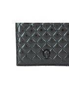 Alexander McQueen Skull Folded Wallet - Black