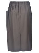 Sofie d'Hoore Drawstring Skirt - Chocolate