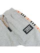 Burberry Hamilton Icon Sweatpants - MELANGE GREY