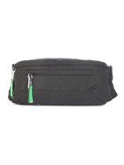 Prada Classic Belt Bag - Xvs Black Green Fluo