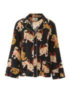 Kirin Haetae Pyjama Shirt - BLACK MULTI (Black)