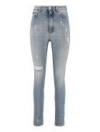 Dolce & Gabbana High-rise Grace-fit Jeans - Denim