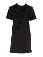 McQ Alexander McQueen Swallow Dress - Black